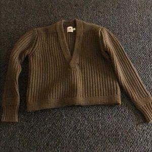 H&M sweater crop top
